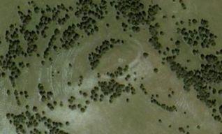 Castelliere di Monte Birbo, veduta aerea
