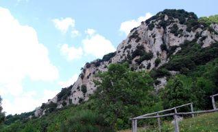 Pendici del Monte Igno, palestra di roccia