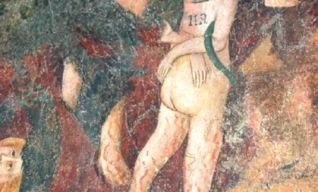 Particolare del Giudizio Universale di Cristoforo di Jacopo (seconda metà del '400)