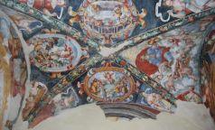 Chiesa di Santa Lucia, affreschi di De Magistris (XVII)